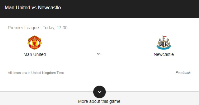 Manchester United vs Newcastle Preview