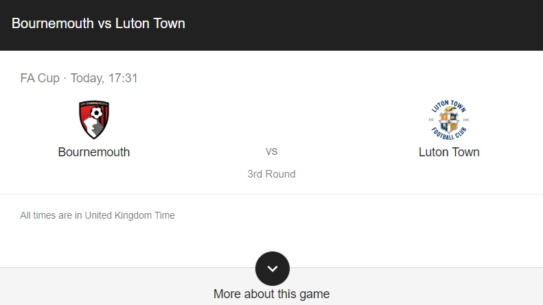 Bournemouth vs Luton Preview & Info