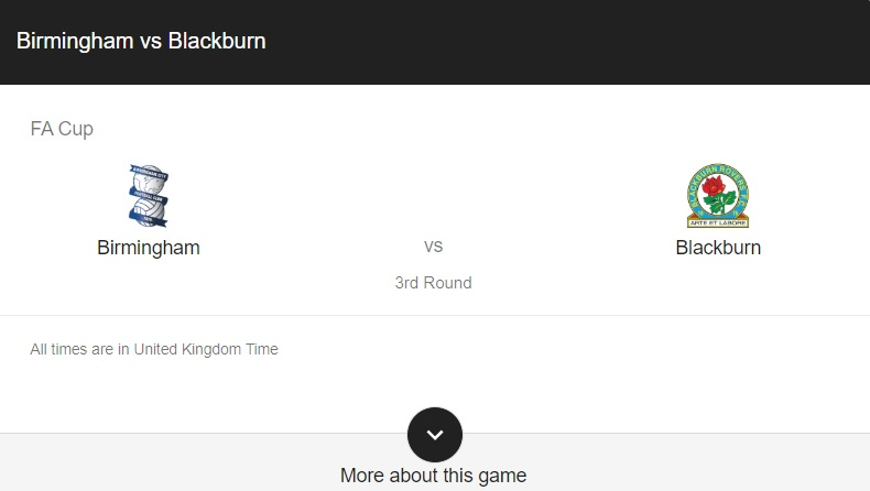 birmingham vs blackburn preview & live info