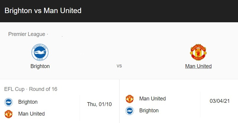 Brighton vs Man Utd Live Stream Online Free