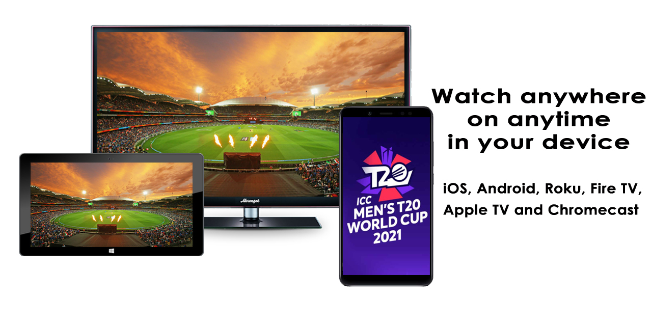 Watch Cricket Live in your favorite device